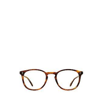 Garrett Leight KINNEY chesnut unisex eyeglasses