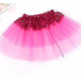 Cute Dance Wear Tulle Sequin Princess Tutu Skirt