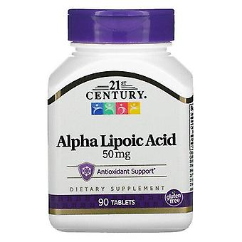 21st Century, Alpha Lipoic Acid, 50 mg, 90 Tablets