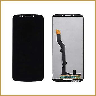 Til Motorola Moto G6 Play XT1922-2 LCD-skærm touch digitizer - sort