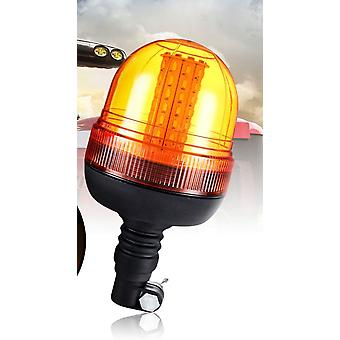 Led Rotating Flashing, Amber Beacon, Pole Tractor Warning, Traffic Light