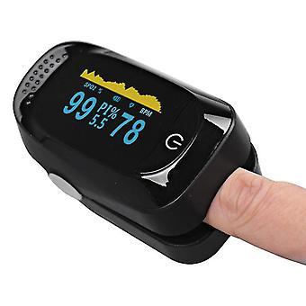 Vingerpuls oximeter bloed zuurstof spo2 monitor