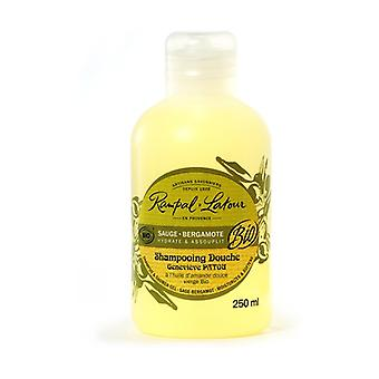 Shampoo and Bath Gel with Willow and Vergamot 250 ml of gel
