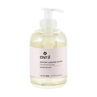 Rose Petals Liquid Hand Soap - Certified Organic 300 ml