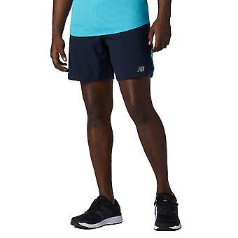 New Balance Mens 2021 Impact Run 7 inch vochtafvoerende comfort shorts