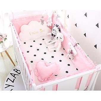 Baumwolle Baby Krippe Bettwäsche Set