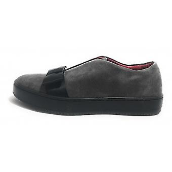 Women's Shoes Aurora Sneaker Suede Suede Col. Black Bow Girgio D18au10