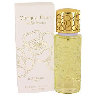 Quelques Fleurs Jardin Secret Eau De Parfum Spray By Houbigant 3.4 oz Eau De Parfum Spray