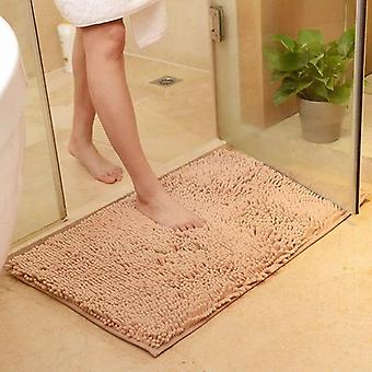 Carpet Chenille Bathroom Non-slip Absorbent Door Mat Bath Mat Baby Crawling