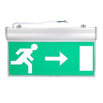 Linker rechts Teken Veiligheidsevacuatie