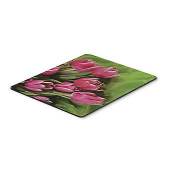 Caroline Schätze rosa Tulpen Maus Pad, Hot Pad oder Untersetzer, mehrfarbig (Aph5048mp)