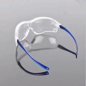 Praca laboratoryjna - okulary ochronne do oczu, okulary przeciwpyłowe