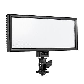 Ultra-thin led video light photography fill adjustable brightness and dual color