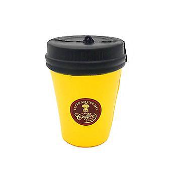 søt kaffe kopp formet, squishy stress lindrer moro leketøy