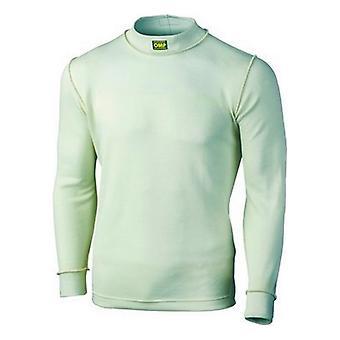 Men's Thermal T-shirt OMP Long sleeve White