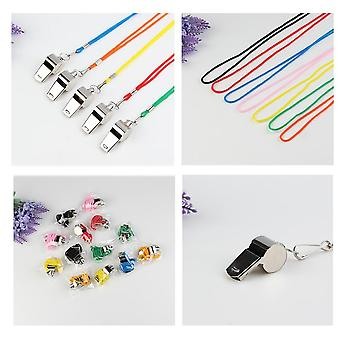 Stainless Steel Whistle Training Referee Sports Whistle Football Loud Tools