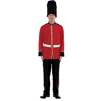 Orion kostymer mens Red Royal Palace Guard uniform fancy Dress