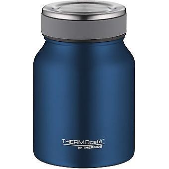 ThermoCaf von THERMOS Thermobehlter fr Essen, Edelstahl Blau 500ml - Isolier-Speisegef fr Suppe oder