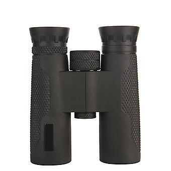 Binocolo HD 10x32 con BAK4 Wideband FMC Green Film per la caccia e la pesca, campeggio, escursionismo, birdwatching (nero)