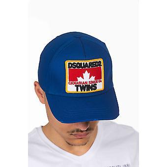 الأزرق Dsquared2 قبعة رجالية