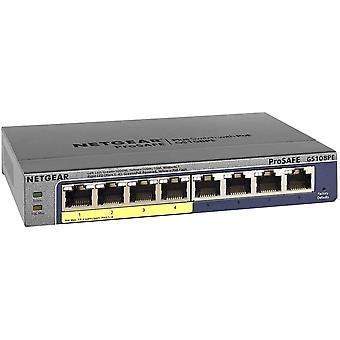 FengChun GS108PE Switch 8 Port Gigabit Ethernet LAN PoE Switch Plus (Netzwerk Switch mit 4x PoE 53W,
