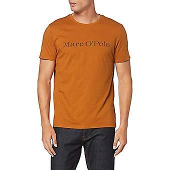 Marc O'Polo 92722051230 Camiseta, marrón (cuero marrón 738), X-small hombres