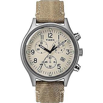 Timex Analog Watch Miesten kvartsi kangashihnalla 7.53049E+11