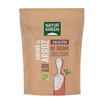 Gluten-free bio rice flour 500 g of powder