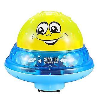 Without base yellow shower pool bath toddler swimming led light bathroom toys az974