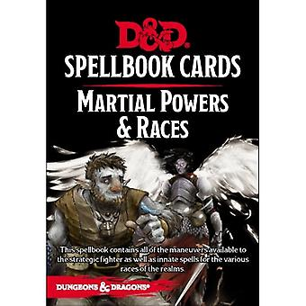 Donjons et Dragons Pouvoirs Martiaux &Races Spell Deck