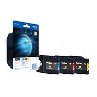 Brother LC-1280XLRBWBP Tintenpatrone Multipack, 1,2K Seiten, Pack qty 3