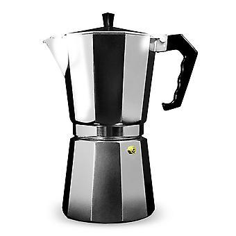 Grunwerg Aluminium Espresso Maker Gift Boxed 6 Cup