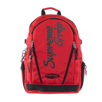 Supreme Grip Women Backpack Print Italy  Red