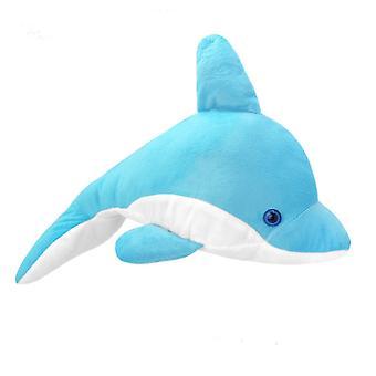 Kaikki luonto Delfiini sininen 35cm muhkea ääni