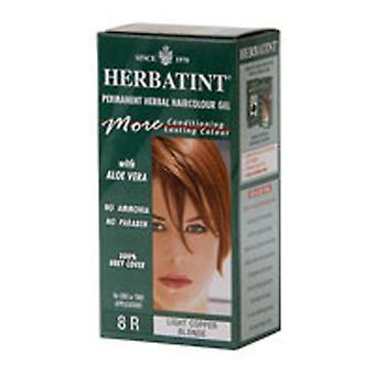 Herbatint Herbatint Permanent Ljus Koppar Blondin (8r), 4 Oz