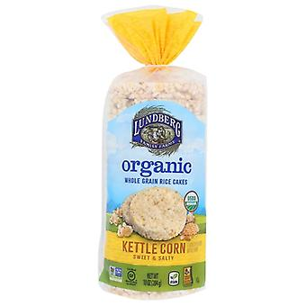 Lundberg Rice Cake Kettle Corn, Case of 6 X 10 Oz