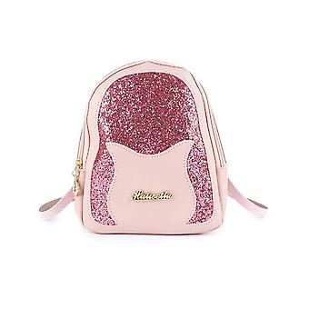 Back Pack With Glossy Letter