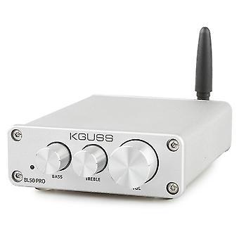 KGUSS BL50 PRO TPA3116D2 QCC3003 bluetooth 5.0 2x50W Amplificador de áudio de energia digital