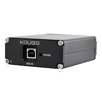 KGUSS Q2 ES9018K2M SA9023 AD823 USB Dac Audio Dekodér Sluchátkový zesilovač