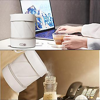Portable Folding Silicone Electric Kettle 110v/220v Household Small Travel Electric Kettle