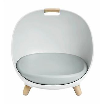 Four Seasons General Small Dog House Cat House Can Be Made Swing Hammock / Floor Sofa / Lying Cushion / Pet Room-white
