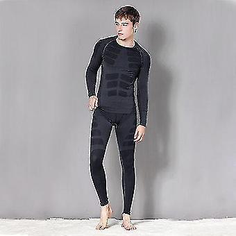 Men-women Thermal Underwear Snowboard Suit Set
