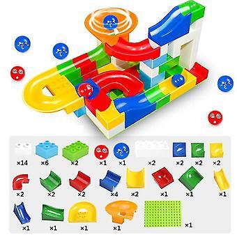 Blocchi di gioco + Costruzione Marble Race Run Maze Balls Giocattolo