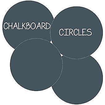 Home decor decals chalkboard circles nursery decoration