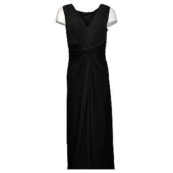 IMAN Global Chic Dress Flawless Knit Maxi Black 751382