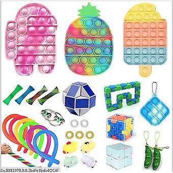 Sensory Decompression Toy Set Puzzle Diy Combination Toys -42