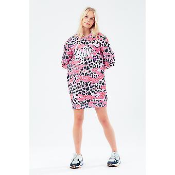 Hype Tytöt Leopard Camo Hiki mekko
