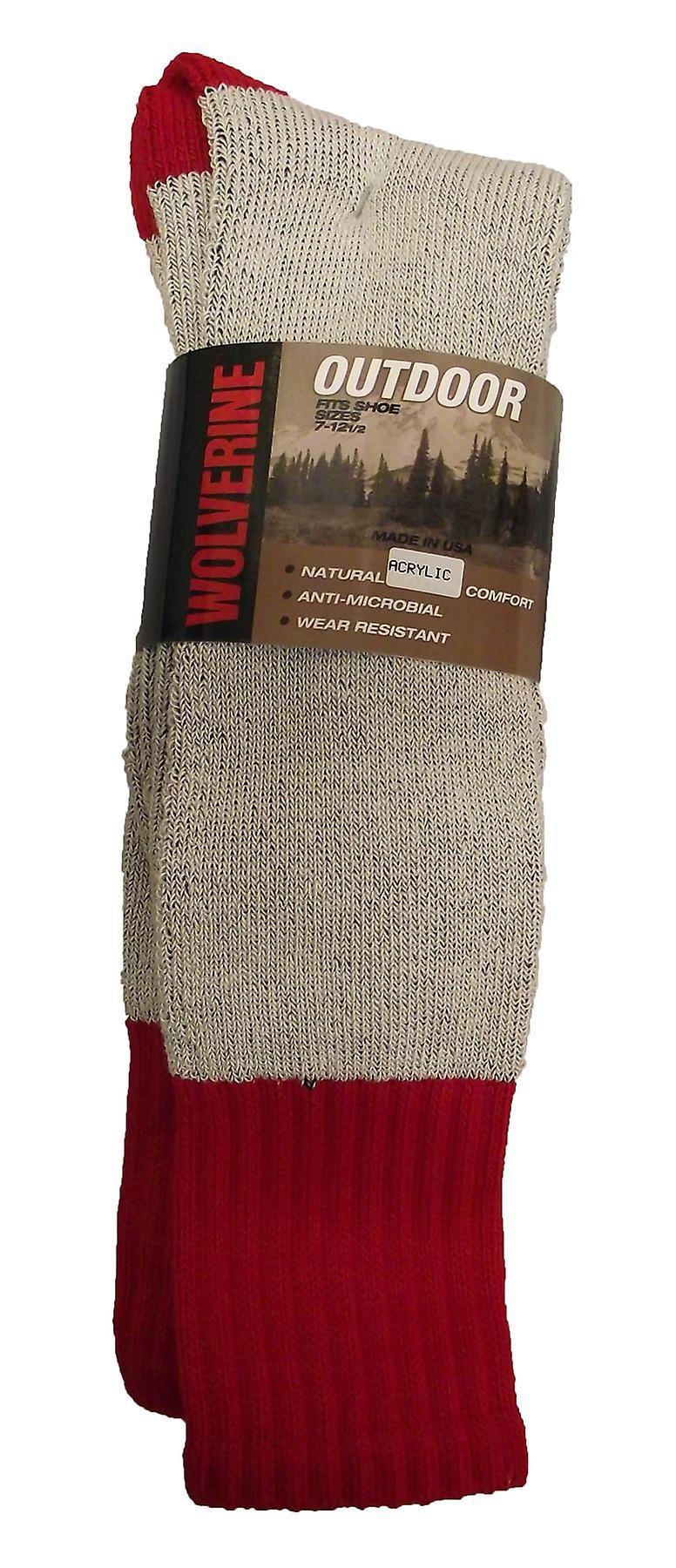 Brand New 2 Pairs US Heavy Soft Comfort Socks