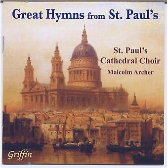 St. Paul's Cathedral Choir - Great Hymns From st. Paul's [CD] USA import