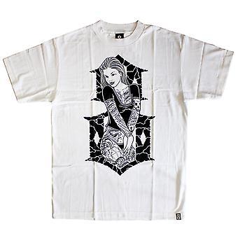 Rebel8 6th Street t-paita valkoinen